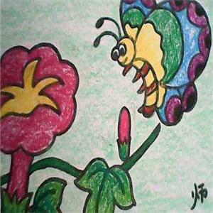 波斯米涂少兒美術畫畫