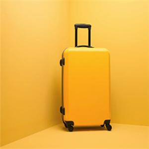 corre箱包黄色拉杆箱