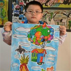 玩美吧社区儿童艺术之家蓝色