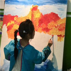 玩美吧社区儿童艺术之家画画