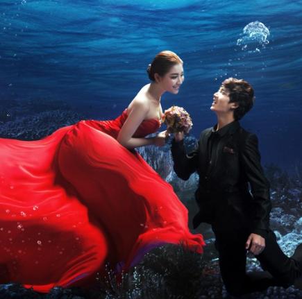 苏菲亚婚纱影楼黑红