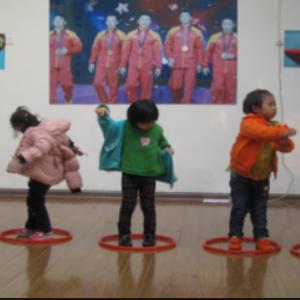 永和幼兒園鍛煉孩子
