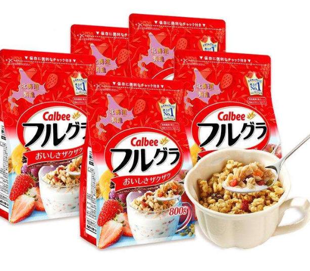 卡乐比水果麦片日本进口