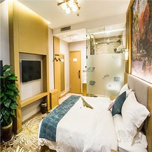 慢享主题酒店大床房