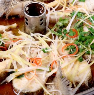 鱼司机汽锅鱼葱姜味