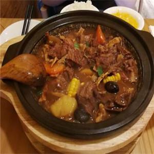 鹅小煲鹅汁捞饭
