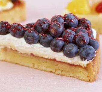 百林烘焙培训蓝莓蛋糕