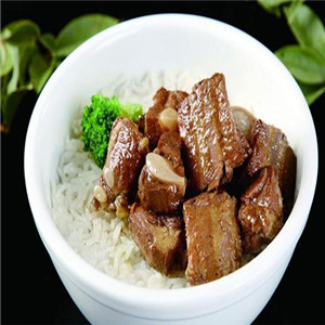 骨稻香排骨米饭新品