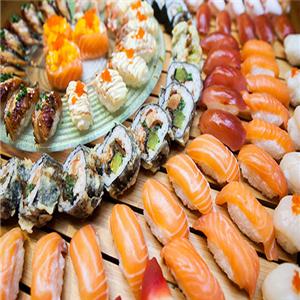 铁人美式寿司美味