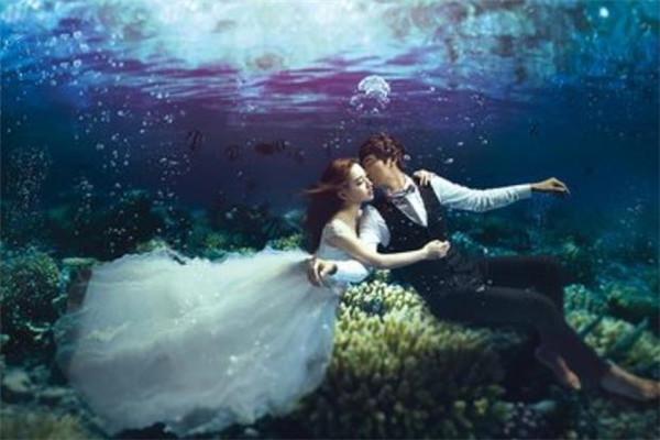 摩卡婚纱摄影海景