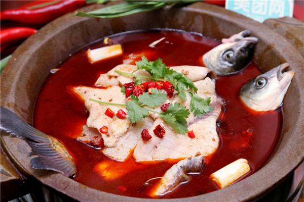 太子鱼府养生锅红汤