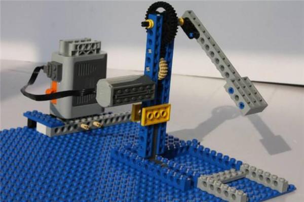 米特机器人蓝色