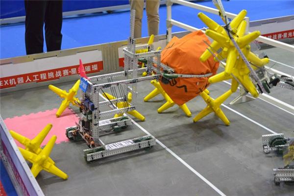 勇斗士創客教育機器人