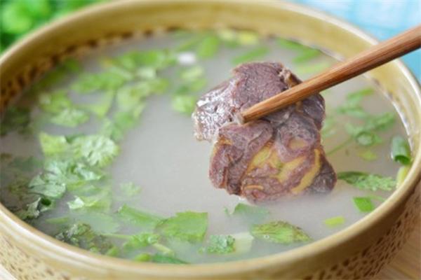 豪德驴肉汤馆白汤