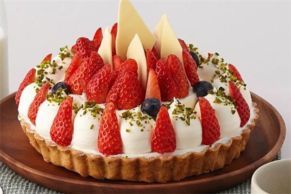 百林烘焙培训草莓蛋糕