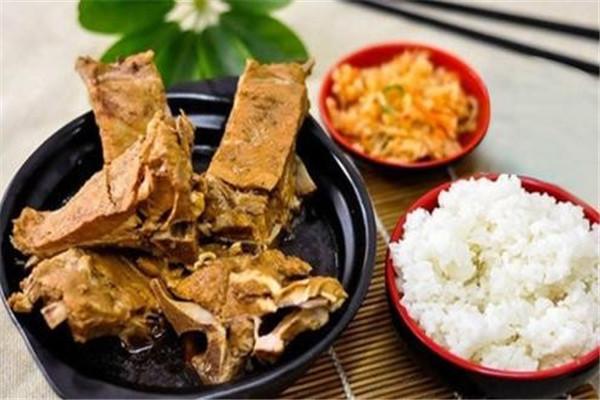 骨稻香排骨米饭套餐