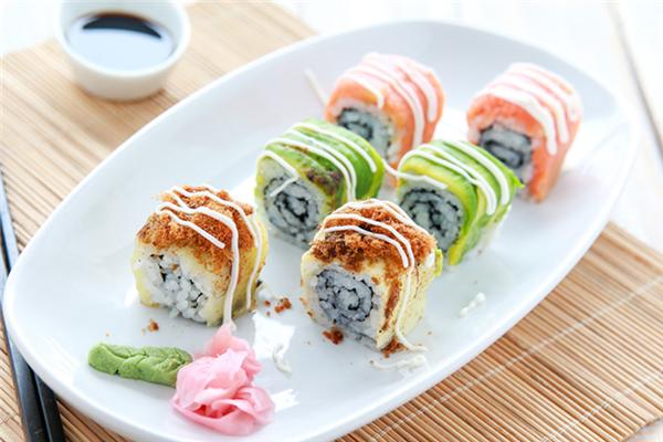铁人美式寿司招牌