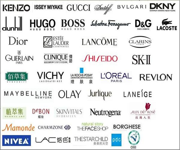 美容产品品牌多