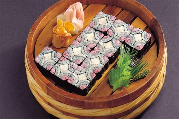 元本寿司招牌