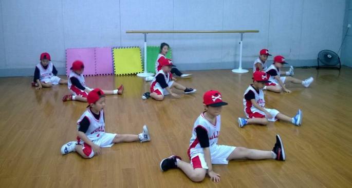 小熊舞儿童舞蹈篮球舞