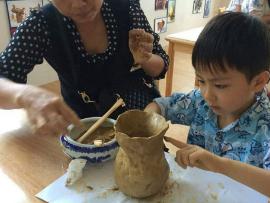 全是泥兒童手工陶藝