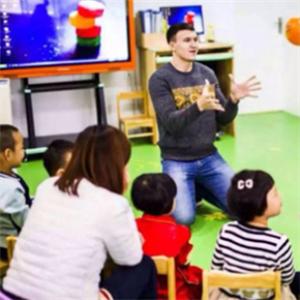 沈陽卓錦萬代蘭幼稚園講課