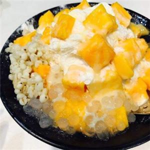 沁心甜品芒果