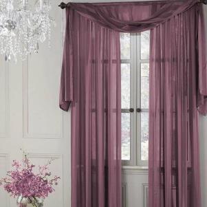 優克窗簾紫色