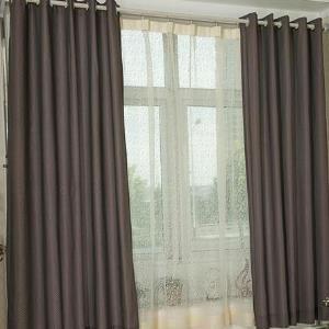 優克窗簾灰色