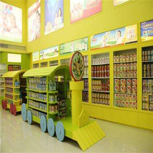 星綠康母嬰店店面