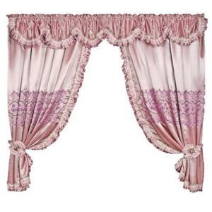 布丽娅窗帘-粉色