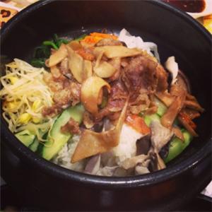 香吉烤肉拌饭豆芽