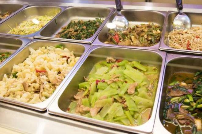 中式快餐菜品圖