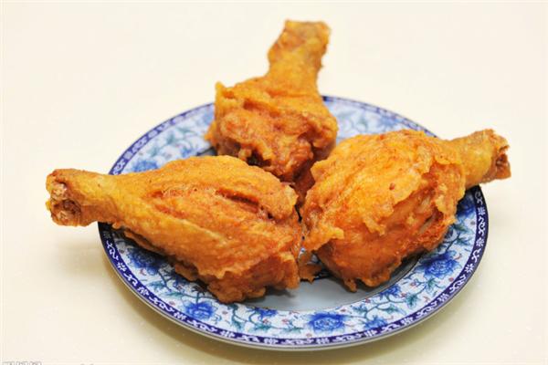 米字弄炸鸡腿美味
