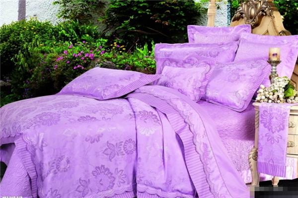 晉博家紡紫色