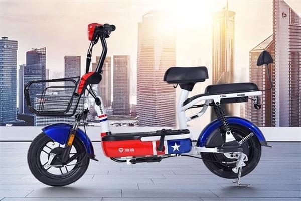 新曰电动自行车红蓝