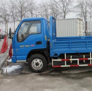 凱馬載重汽車卡車藍色