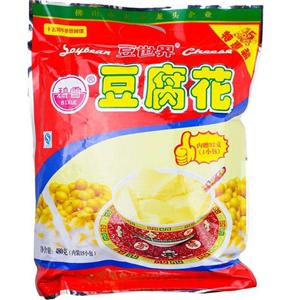 豆世界豆腐花红色