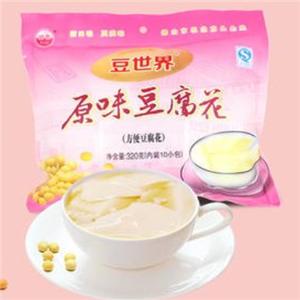 豆世界豆腐花粉色
