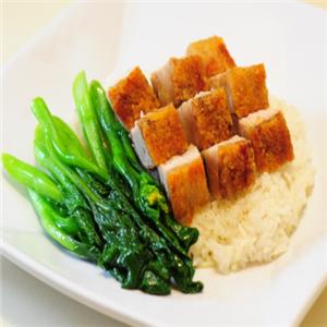 宾来中式快餐菠菜