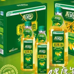 稻园稻米油盒装