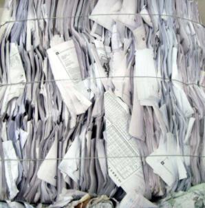 小喇叭废纸回收卷子