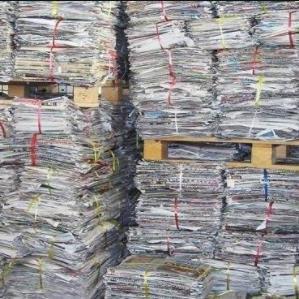 小喇叭废纸回收报纸