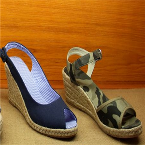 大漠行麻编鞋业特色