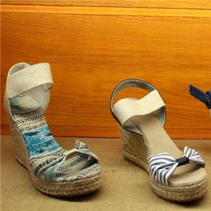 大漠行麻编鞋业经典