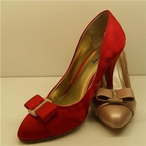 悠悠夫人女鞋红色