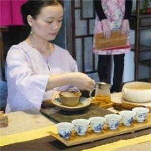 雁南飞茶艺馆展示