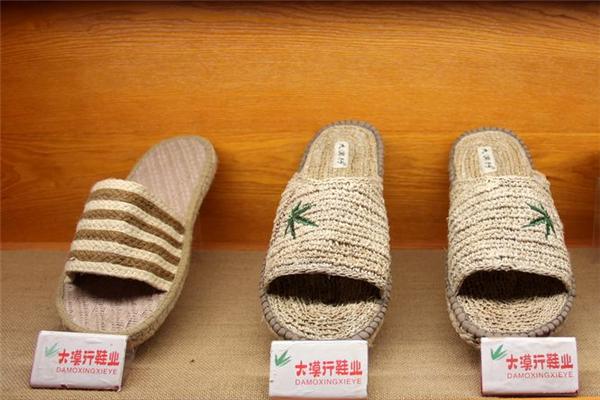 大漠行麻编鞋业推广