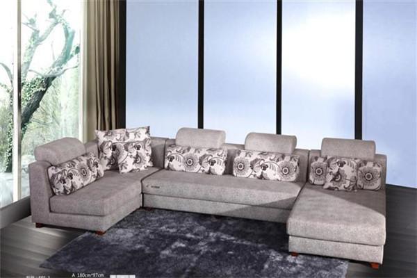 森莱雅家具灰色沙发