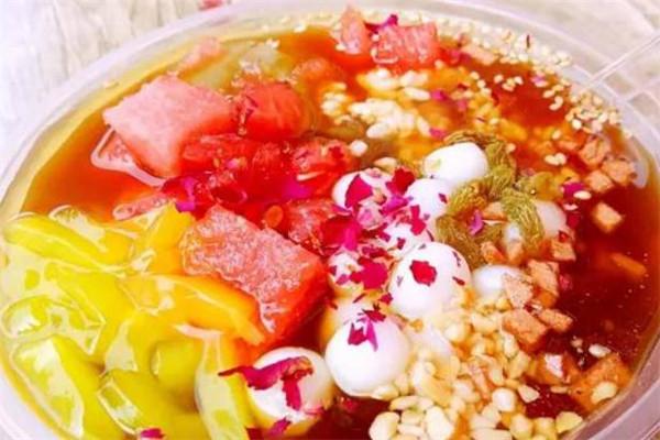 李記玫瑰糍粑冰粉品牌